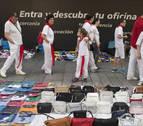 Aranzadi pide un plan para reordenar el comercio de los manteros en San Fermín