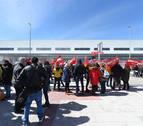 Masivo seguimiento de la huelga de los trabajadores de Amazon en España