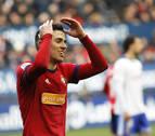 Barja, en sustitución del sancionado Aridane, novedad en la lista de Osasuna