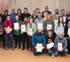 39 empresas y comercios de Barañáin reciben el certificado Bai Euskarari