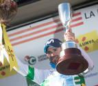 Triunfo de Alejandro Valverde en la cima de La Molina