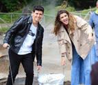 Amaia y Alfred graban en las islas Azores su vídeo de presentación para Eurovisión