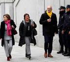Fiscalía pide prisión para Turull, Rull, Romeva, Forcadell y Bassa por riesgo de fuga