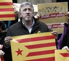 Cientos de personas rechazan en Pamplona la