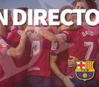 Así les hemos contado la victoria de Osasuna contra el Barça B