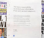 Zuckerberg pide perdón a los británicos por la filtración de datos