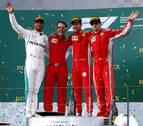 Vettel gana el Gran Premio de Australia y Fernando Alonso queda quinto