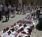 Itziar Gómez defiende la gestión del Ayuntamiento con el top manta