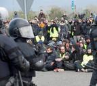 Reabierta la AP-7 en Girona tras los cortes provocados por los independentistas
