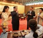 Kim Jong Un, recibido con honores en Pekín antes de la cumbre con Trump
