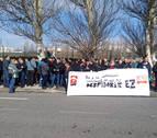 Protestas en VW-Navarra para denunciar despidos por la aplicación del articulo 52