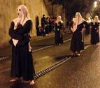 Cortejo barroco en la procesión de Viernes Santo en Corella