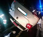 Un conductor ebrio se accidenta en Irurtzun y es trasladado al CHN