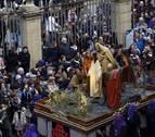 Horario y recorrido de la procesión de Viernes Santo en Pamplona