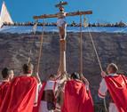 Andosilla revive la Pasión de Cristo ante 3.000 personas