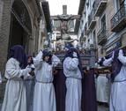 La lluvia respetará las procesiones de Viernes Santo en Navarra