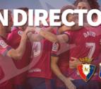 Así les hemos contado en directo el Osasuna-Tenerife
