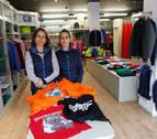 Color sin límites en una tienda de la calle Bergamín de Pamplona