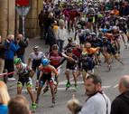 Pamplona estrena maratón de patinaje