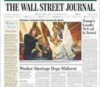 El Ángel de Tudela 'vuela' hasta la portada de The Wall Street Journal