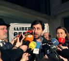 Los ex consejeros catalanes huidos en Bélgica quedan en libertad sin fianza