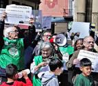 """Una afectada por la hipoteca en Navarra: """"Tengo 3 hijos y ningún sitio a donde ir"""""""