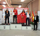 Ane Cinto rubrica un doble podio nacional de Taekwondo