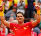 Nadal supera con contundencia a Kohlschreiber y empata la eliminatoria