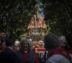 San Fermín dormirá en la catedral y regresará el martes a su capilla