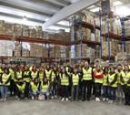 Enséñame a ser empresario: alumnos de FP María Ana Sanz visitaron Tafatrans