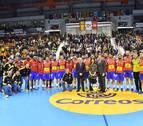 Bazán, Gurbindo y Goñi, titulares en la victoria de España ante Túnez