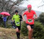 160 corredores bajo la lluvia y sobre el barro de Codés