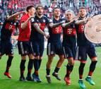 Javi Martínez conquista su sexta Bundesliga consecutiva con el Bayern