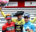 Enric Mas tira de coraje para vencer en Arrate y Roglic se lleva la Vuelta al País Vasco