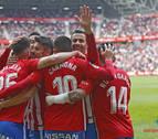 El Sporting recupera liderato y el Córdoba se aferra a sus opciones de salvación