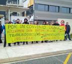 El comité de Gamesa Aoiz reactiva las movilizaciones por el bloqueo del convenio