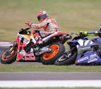 Victoria de Crutchlow y nuevo lío de Márquez con Rossi