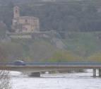 Baja el nivel del río Aragón en Yesa y se rebaja la alerta a prealerta