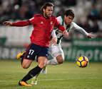 El Córdoba sólo ganó en una de sus nueve visitas a Osasuna
