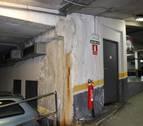 Vecinos del aparcamiento de la plaza Compañía denuncian desperfectos