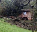 El niño de 5 años atrapado por un árbol en Guipúzcoa permanece en la UCI