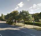 La caída de un pino a la N-121 corta los carriles sentido Castejón y Caparroso