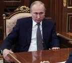 Putin reitera su apoyo al régimen sirio pero no eleva la tensión