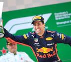 El Red Bull de Ricciardo se proclama campeón del Gran Premio de China