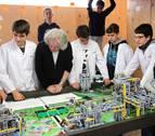 VÍDEO   El equipo navarro FSIngenium se prepara para la final de la First Lego League en Detroit