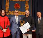 Vicente Ferrer recibe en la UPNA el Premio Jaime Brunet a los Derechos Humanos
