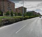 Tres heridos en una colisión por alcance en la avenida de Navarra de Pamplona