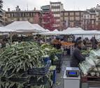 El Ayuntamiento de Estella deja listo el mercado del sábado tras invertir 34.250 €