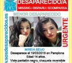 Localizada en Puente la Reina la menor de 14 años desaparecida en Pamplona