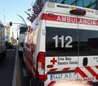 Tres trasladados al CHN tras el accidente de una villavesa en Pamplona